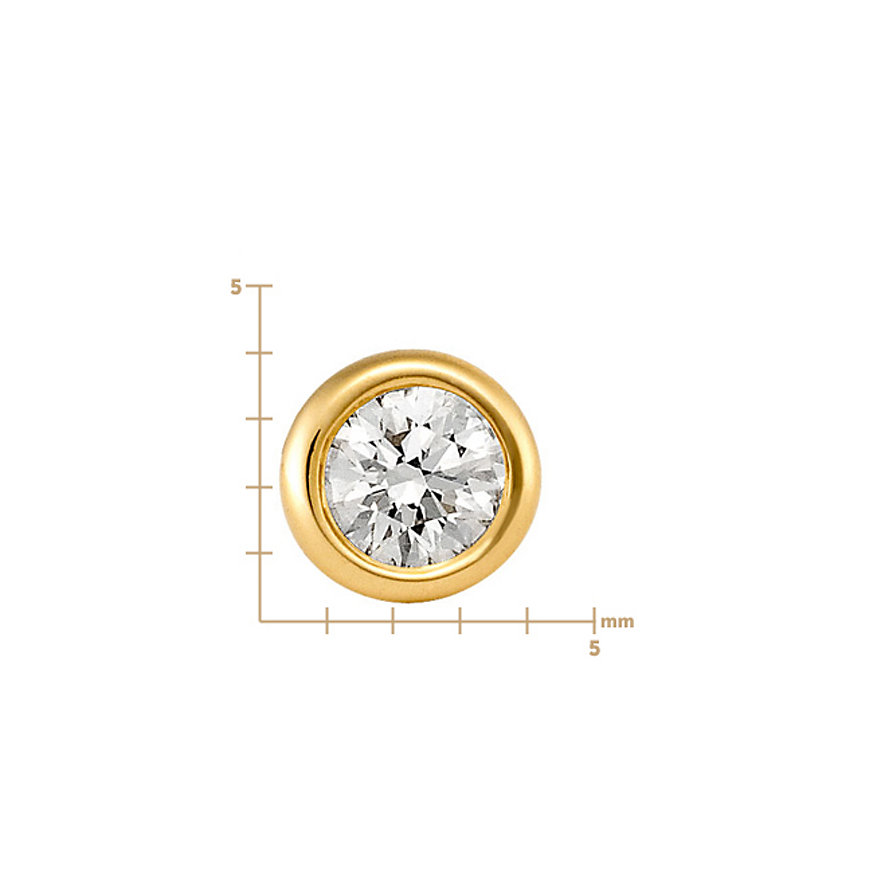 CHRIST Solitaire Ohrstecker 82264663