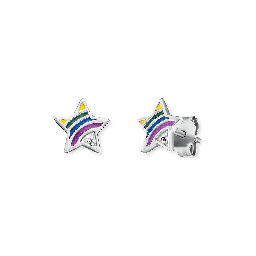 Engelsrufer Ohrstecker Stern Rainbow
