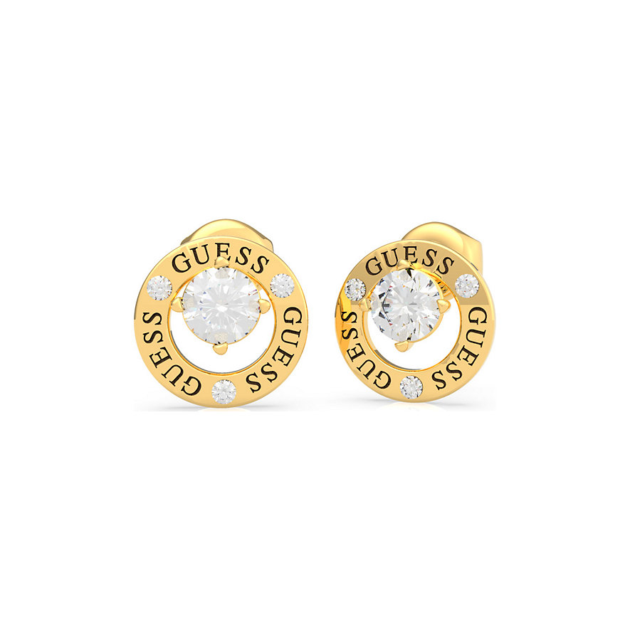 Guess Ohrstecker Prong Crystal UBE20135