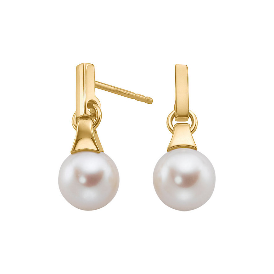 JETTE Gold PEARL Ohrstecker 85882147
