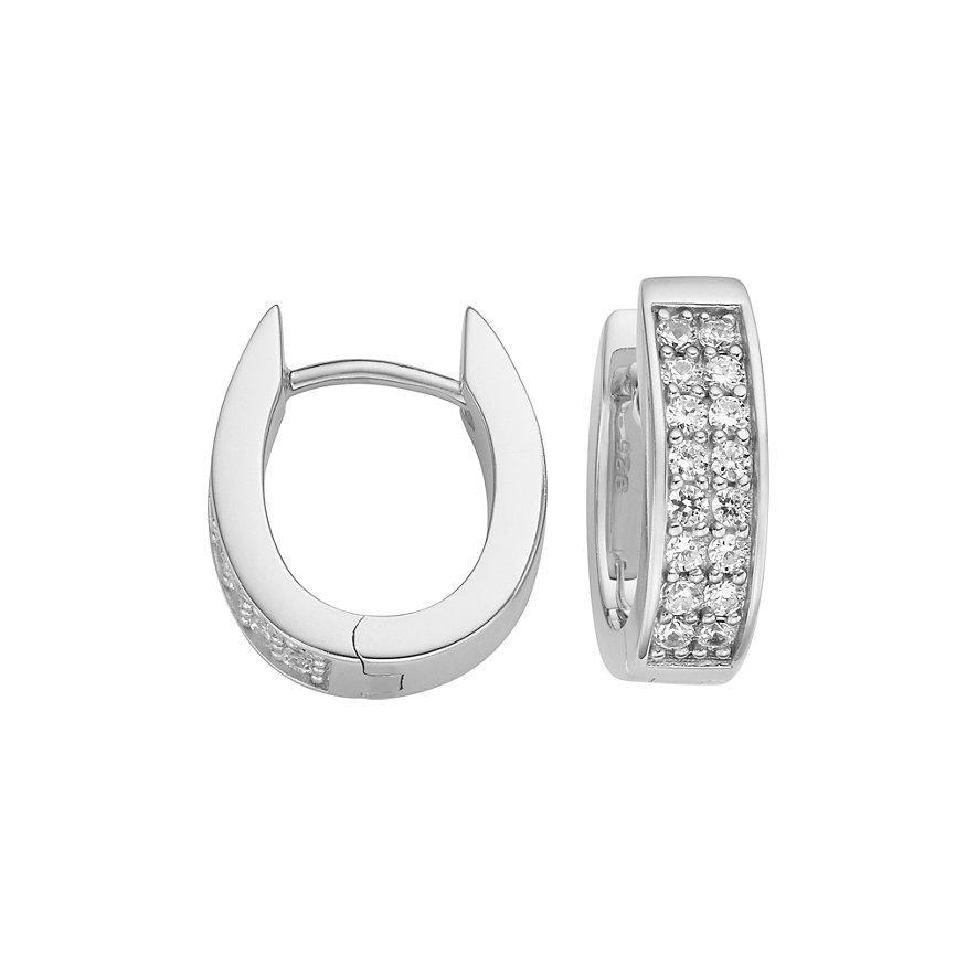 JETTE Silver Creolen 86505673