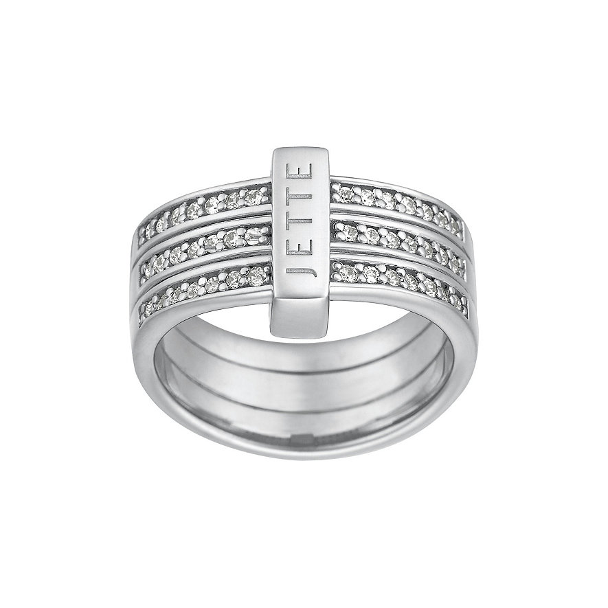 JETTE Silver Damenring 60018065