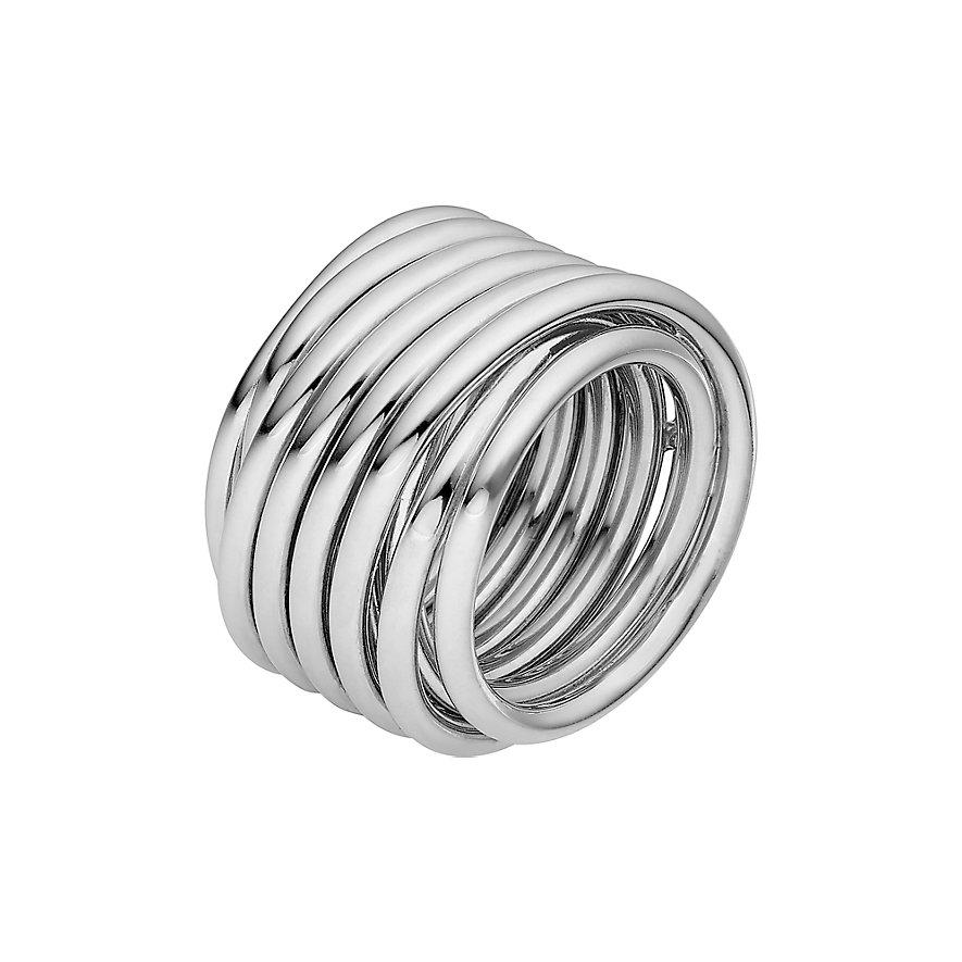 JETTE Silver Damenring 60082421