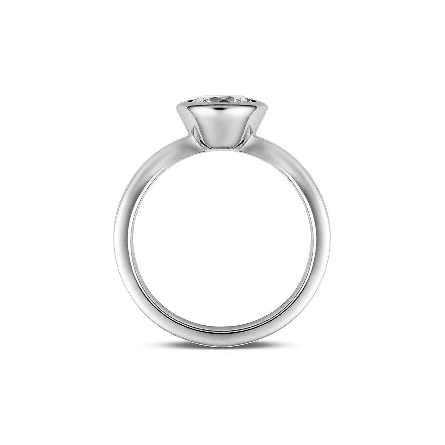 JETTE Silver Damenring Basic 31201376