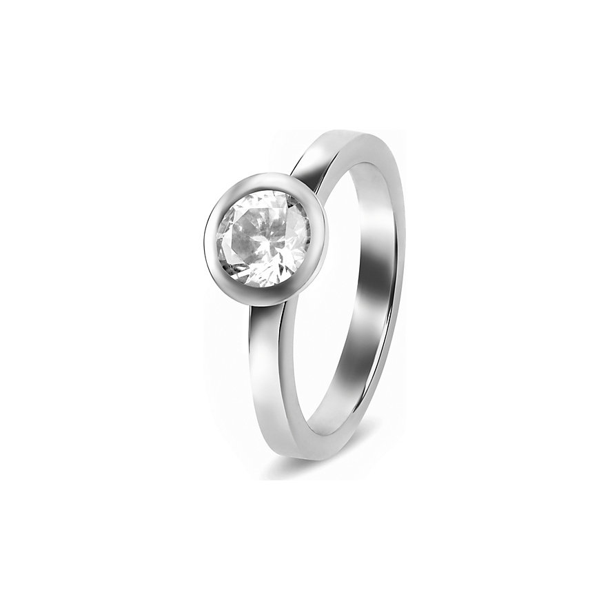 JETTE Silver Damenring Basic 86505320