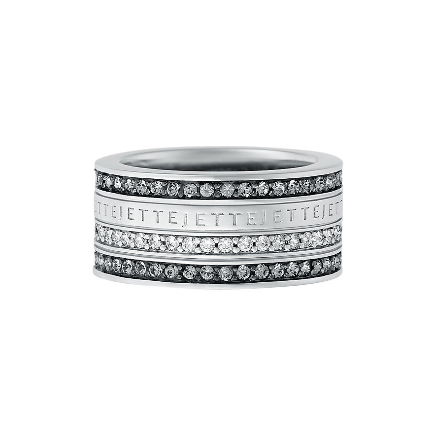 JETTE Silver Damenring Frame 31200625
