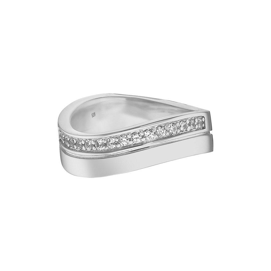 JETTE Silver Damenring Free Spirit 86736454