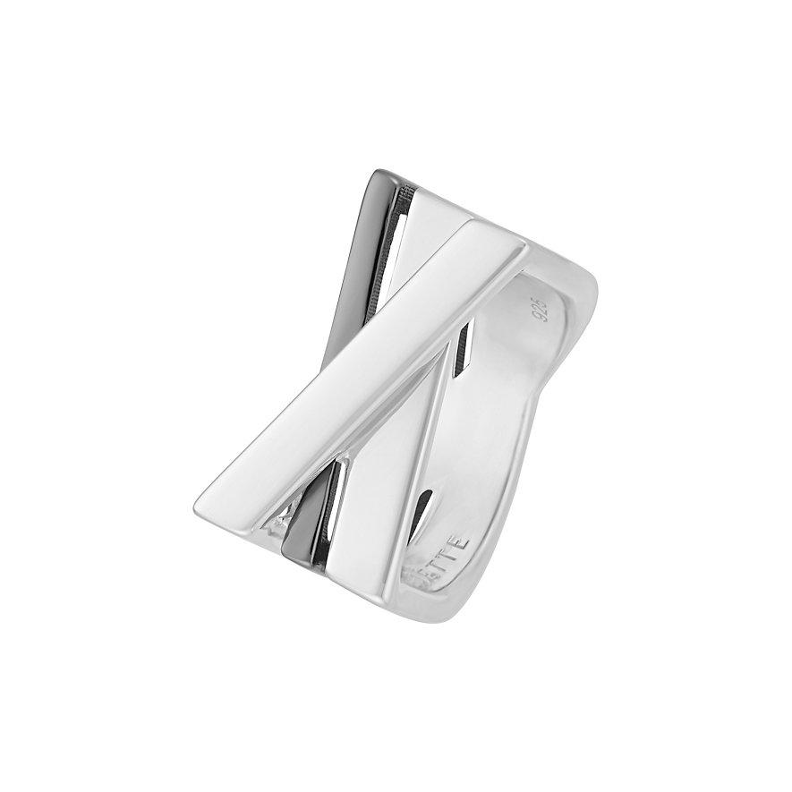 JETTE Silver Damenring Shades 60084416