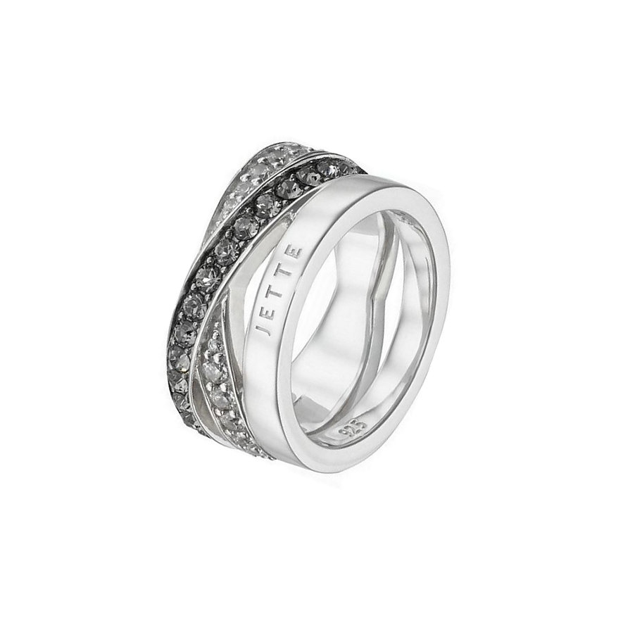 JETTE Silver Damenring Wrapping 60056528