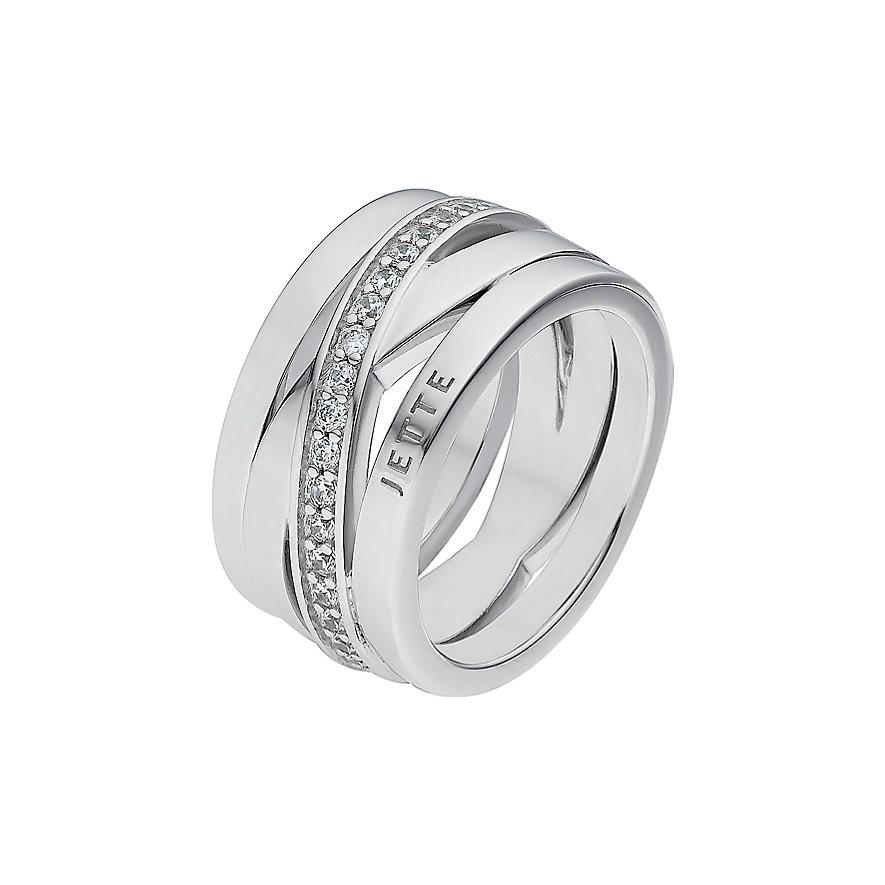JETTE Silver Damenring Wrapping 86592835