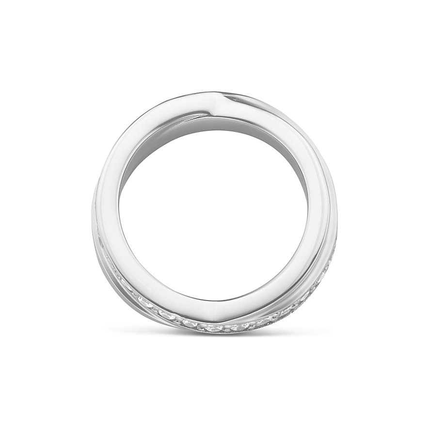 JETTE Silver Damenring Wrapping II 86952394