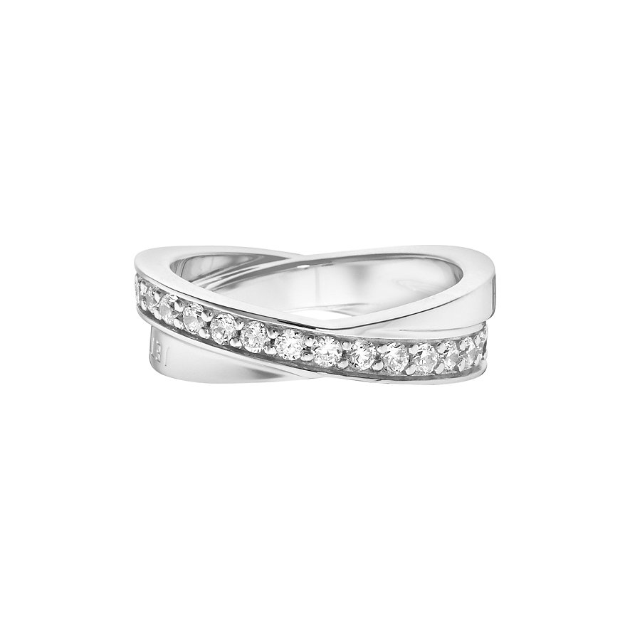 JETTE Silver Damenring Wrapping II 86952408