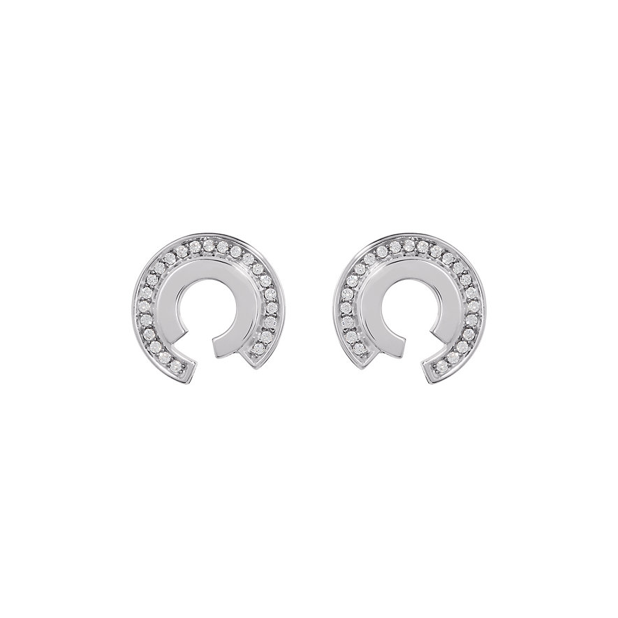 JETTE Silver Ohrstecker Circle 86882698