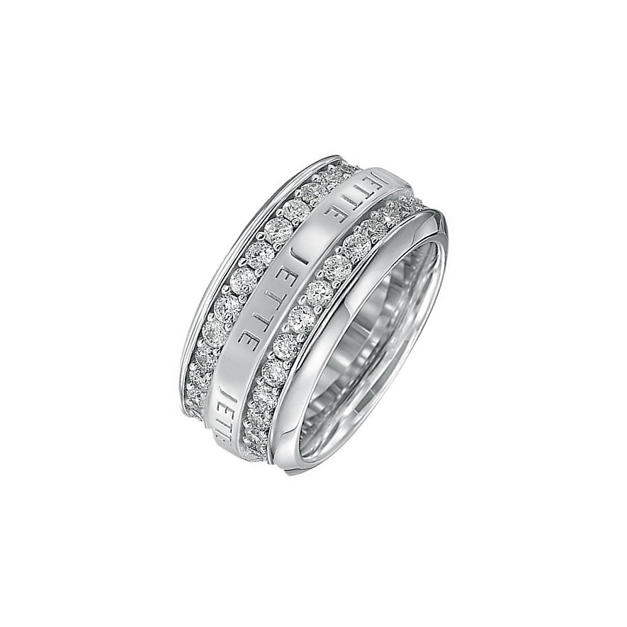 JETTE Silver ROUND ABOUT Ring