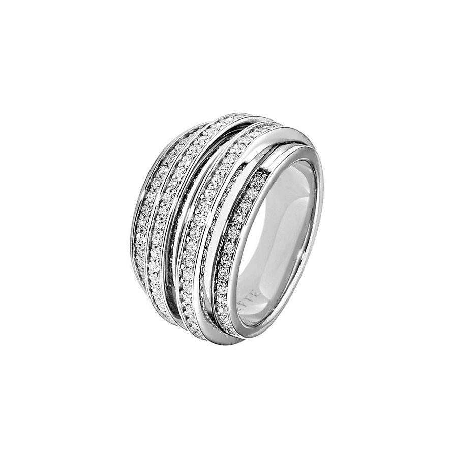 JETTE Silver SWIRL Ring