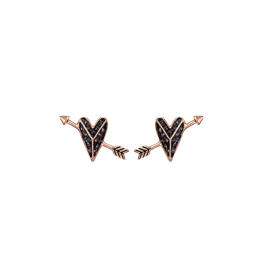 Karl Lagerfeld Ohrstecker Hearts And Arrows 5483597