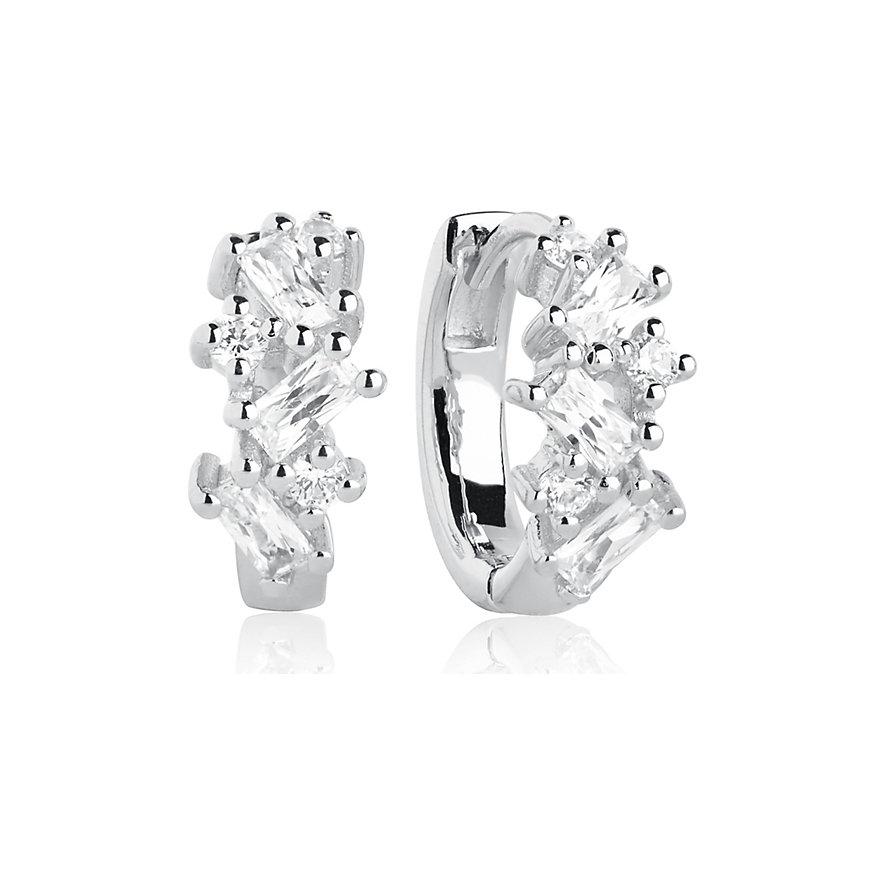 Sif Jakobs Jewellery Creole Antella Creolo Piccolo SJ-E1076-CZ