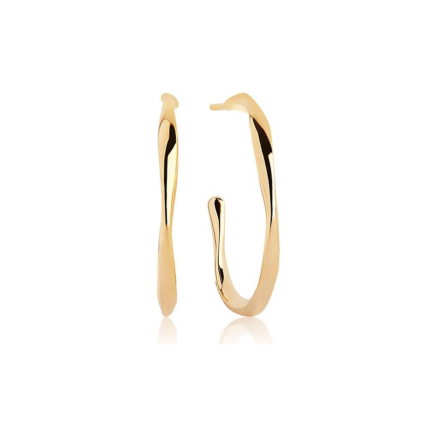 Sif Jakobs Jewellery Creole Cetara Pianura SJ-E3008(YG)