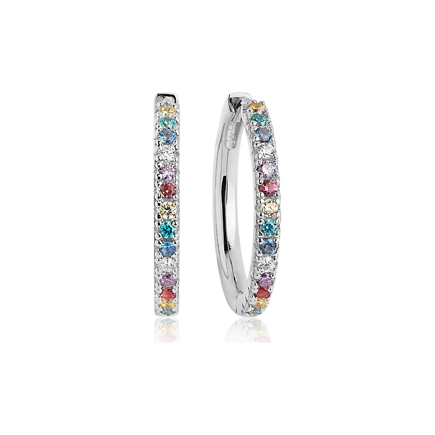 Sif Jakobs Jewellery Creole Ellera Grande SJ-E2869-XCZ