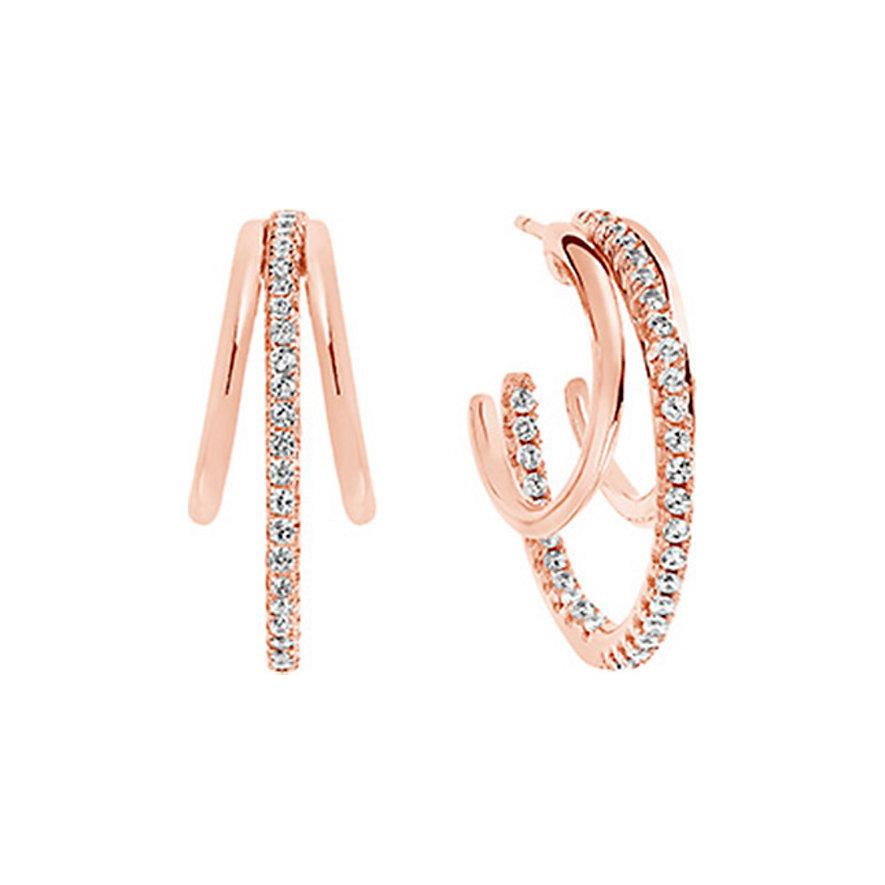 Sif Jakobs Jewellery Creole Ozieri SJ-E0301-CZ-RG-