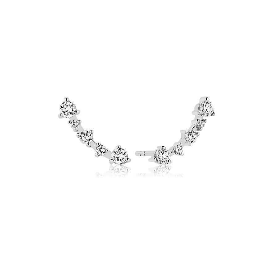 Sif Jakobs Jewellery Creole Princess SJ-E2420-CZ