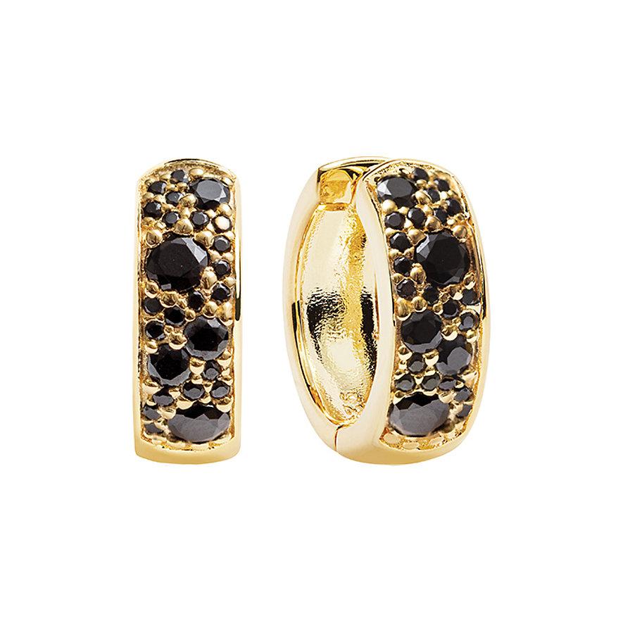 Sif Jakobs Jewellery Creolen SJ-E1059-BK-YG