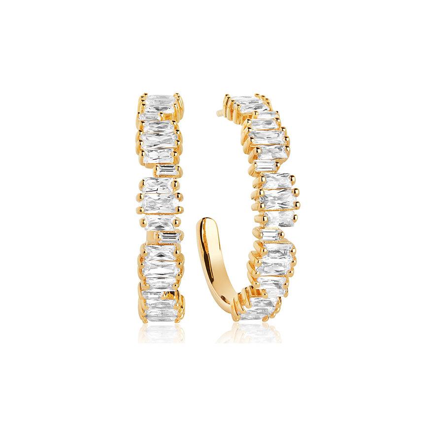 Sif Jakobs Jewellery Creolen SJ-E1077-CZ-YG