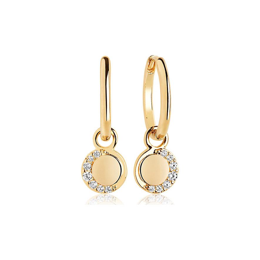 Sif Jakobs Jewellery Creolen SJ-E12011-CZ-SG