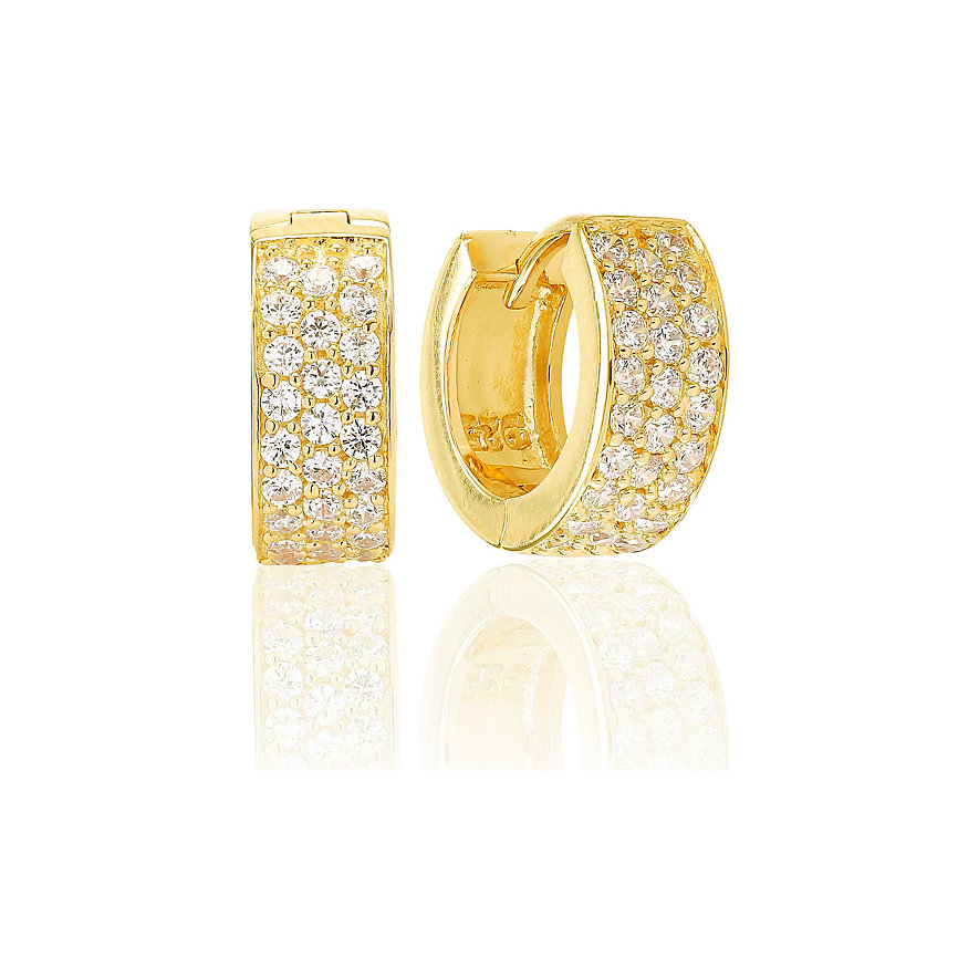 Sif Jakobs Jewellery Creolen SJ-E1484-CZ-YG