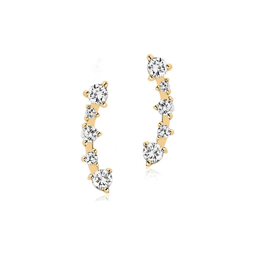Sif Jakobs Jewellery Creolen SJ-E2420-CZ-YG