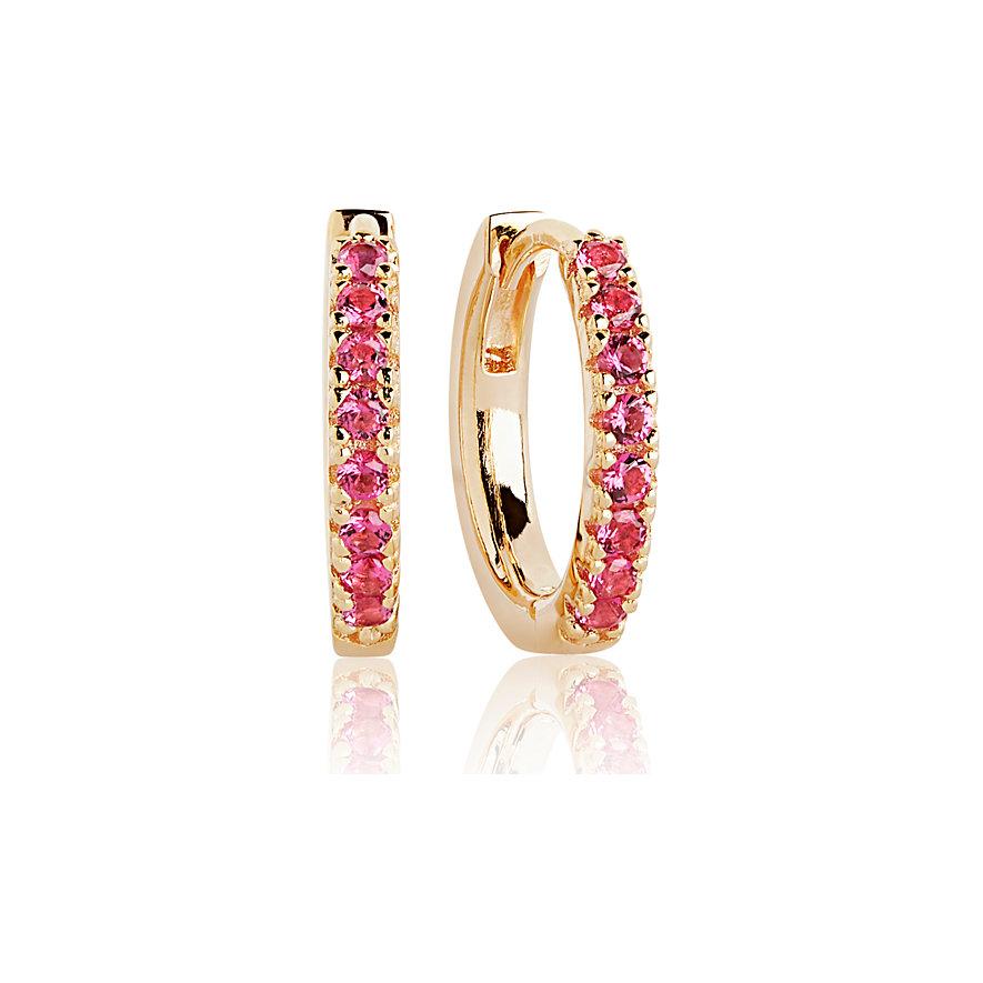 Sif Jakobs Jewellery Creolen SJ-E2859-RED-YG