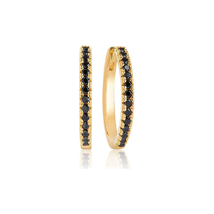 Sif Jakobs Jewellery Creolen SJ-E2869-BK-YG