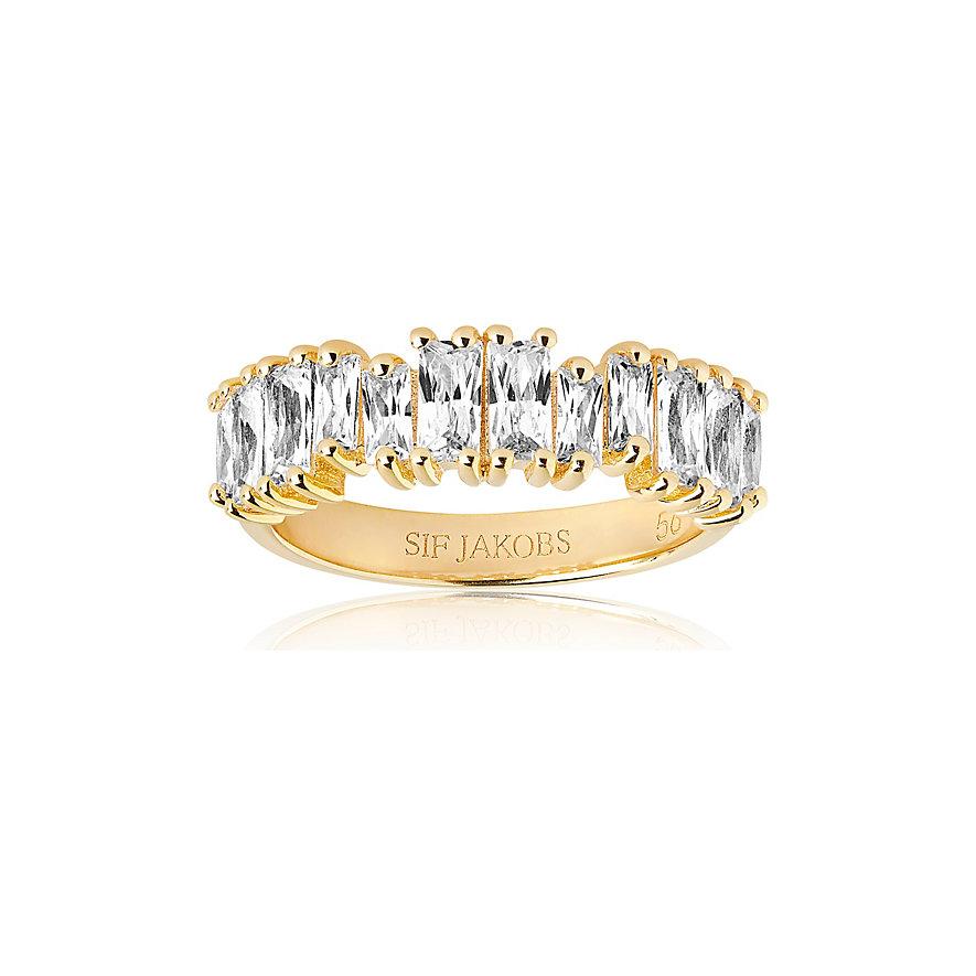 Sif Jakobs Jewellery Damenring Antella Piccolo SJ-R1077-CZ-YG