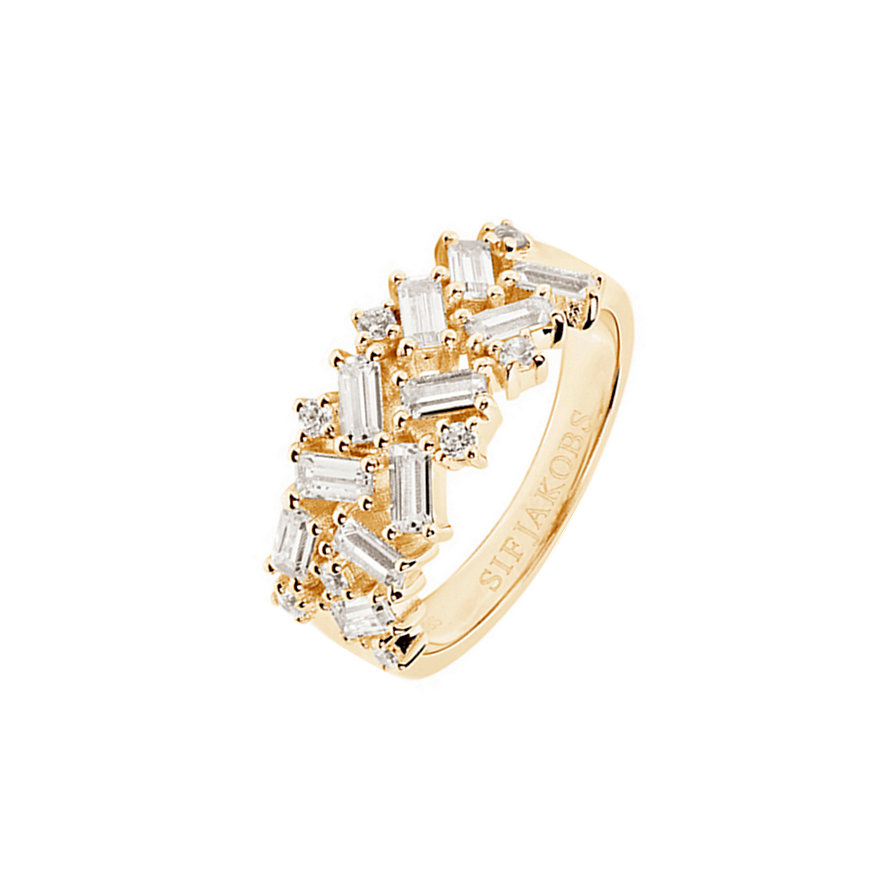 Sif Jakobs Jewellery Damenring Antella SJ-R0463-CZ-YG
