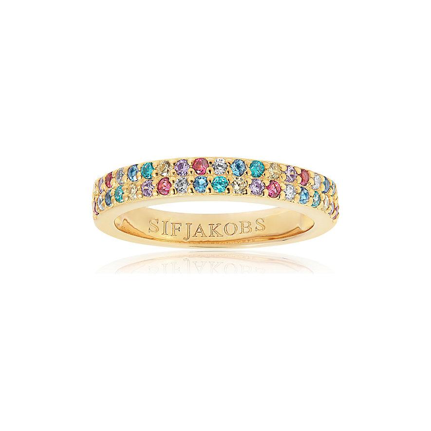 Sif Jakobs Jewellery Damenring Corte Due SJ-R10762-XCZ-YG