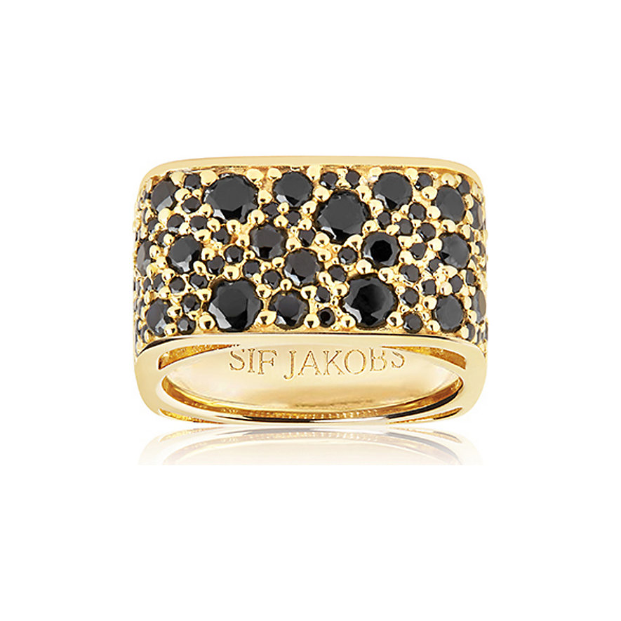 Sif Jakobs Jewellery Damenring SJ-R1060-BK-YG-56