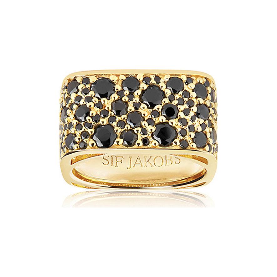 Sif Jakobs Jewellery Damenring SJ-R1060-BK-YG-58
