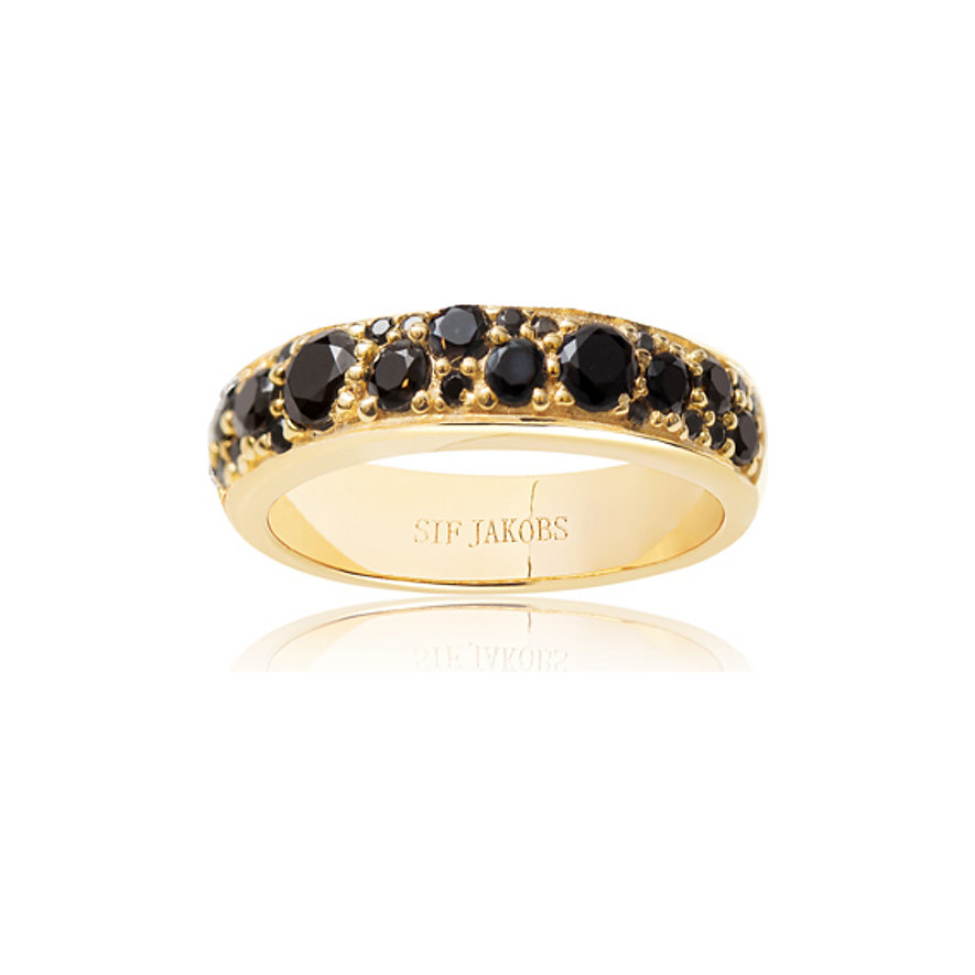 Sif Jakobs Jewellery Damenring SJ-R1062-BK-YG-52