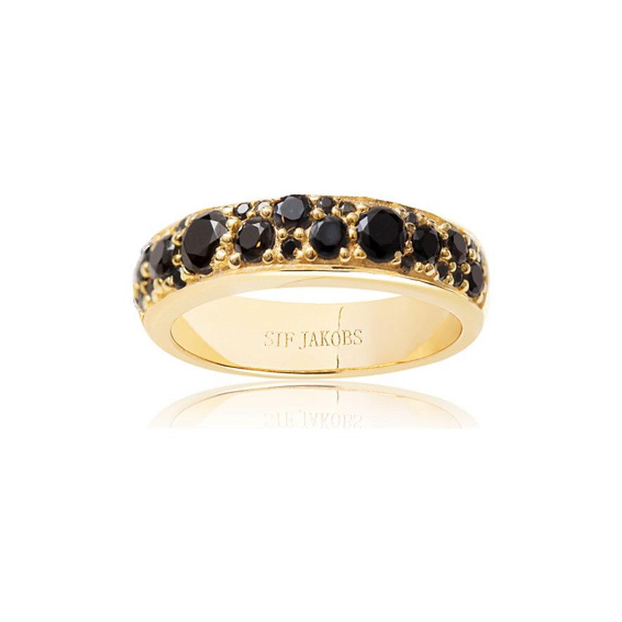 Sif Jakobs Jewellery Damenring SJ-R1062-BK-YG-56