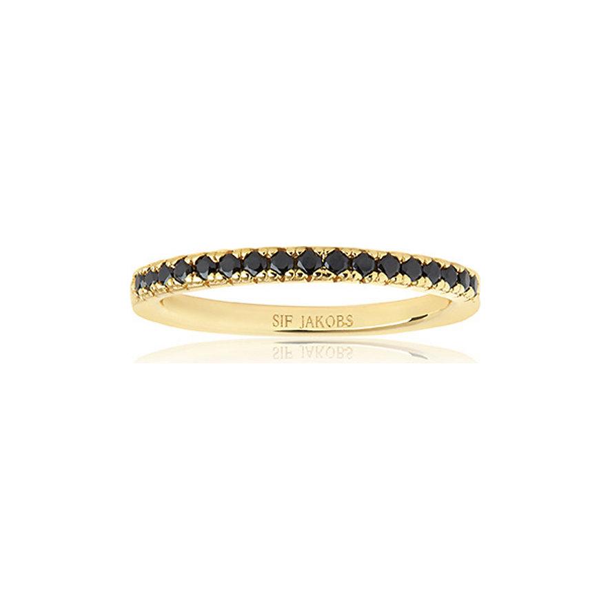 Sif Jakobs Jewellery Damenring SJ-R2869-BK-YG-56