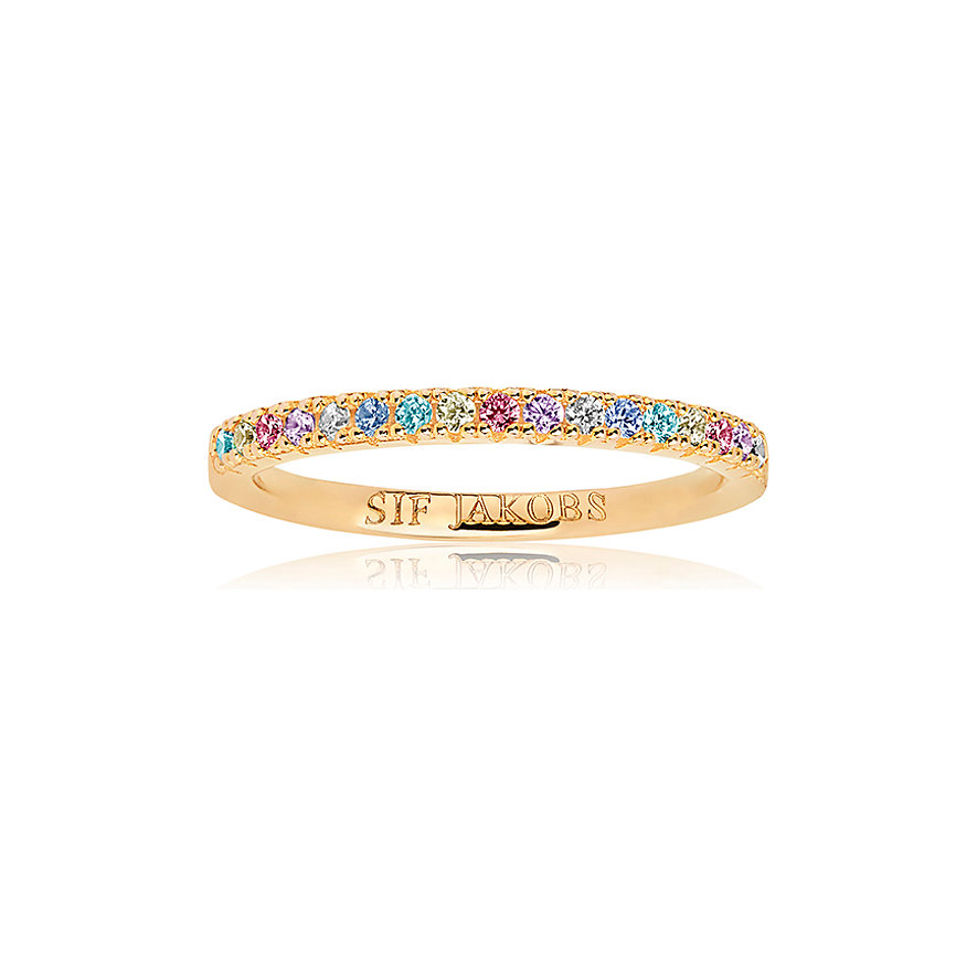 Sif Jakobs Jewellery Damenring  SJ-R2869-XCZ(YG)/54