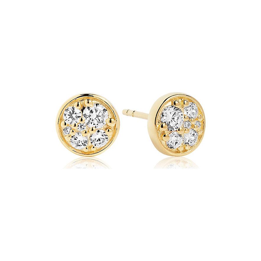 Sif Jakobs Jewellery Ohrhänger Novara Piccolo SJ-E1055-CZ-YG