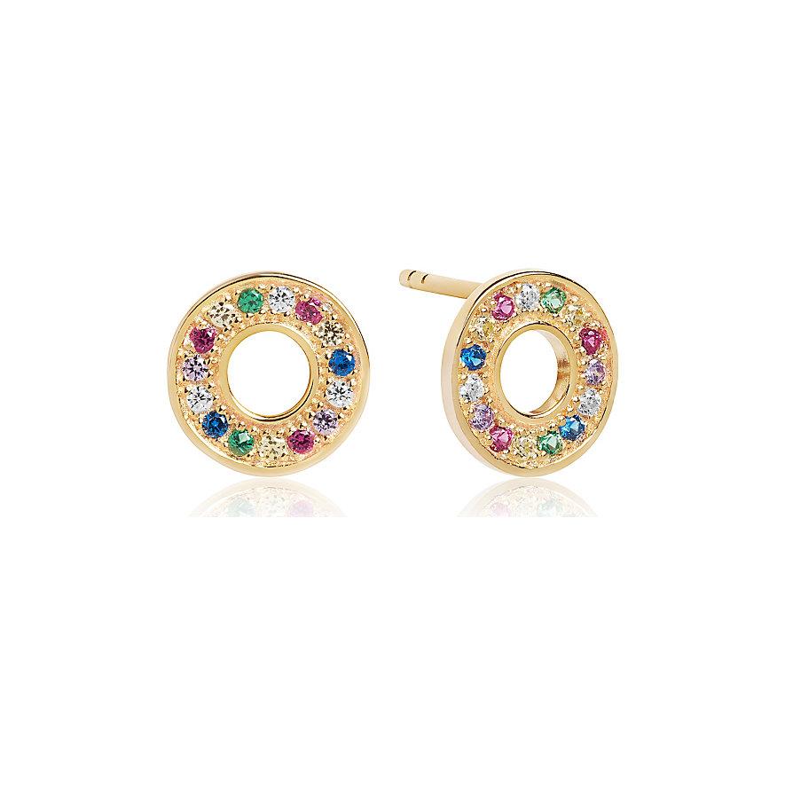 Sif Jakobs Jewellery Ohrhänger SJ-E1048-XCZ(YG)