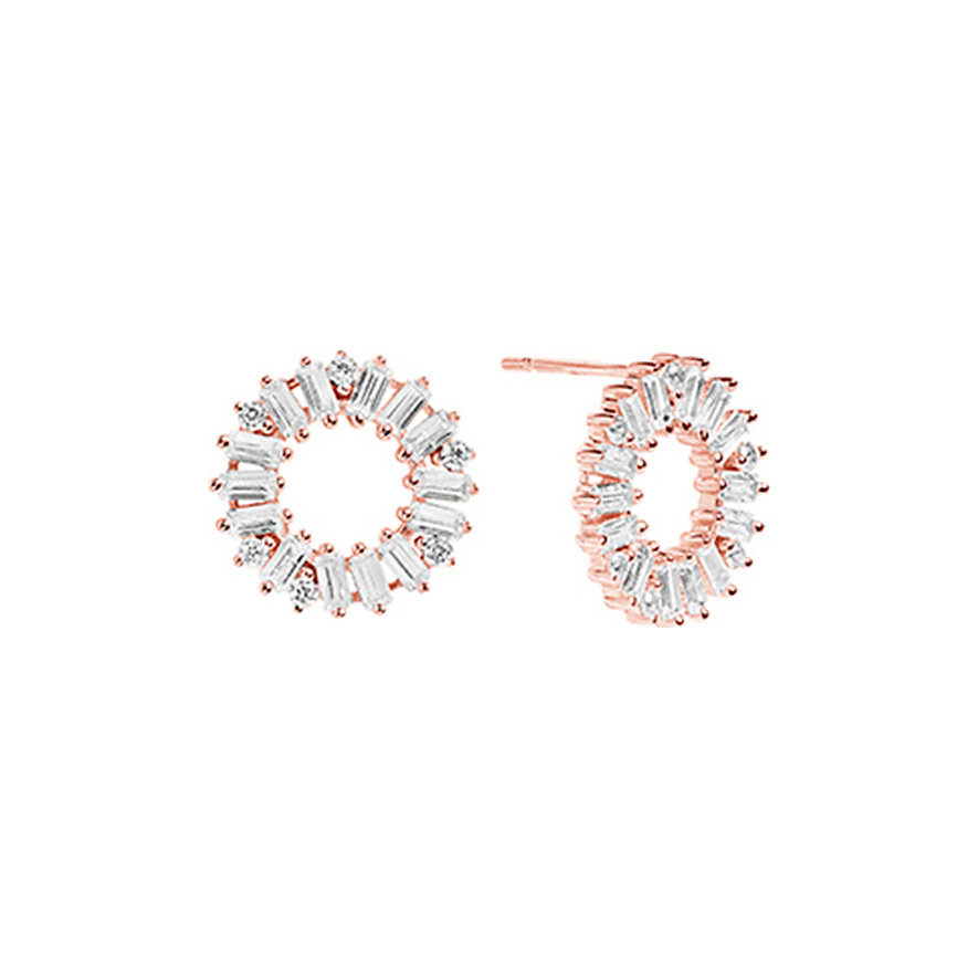 Sif Jakobs Jewellery Ohrstecker Antella Circolo SJ-E0324-CZ-RG