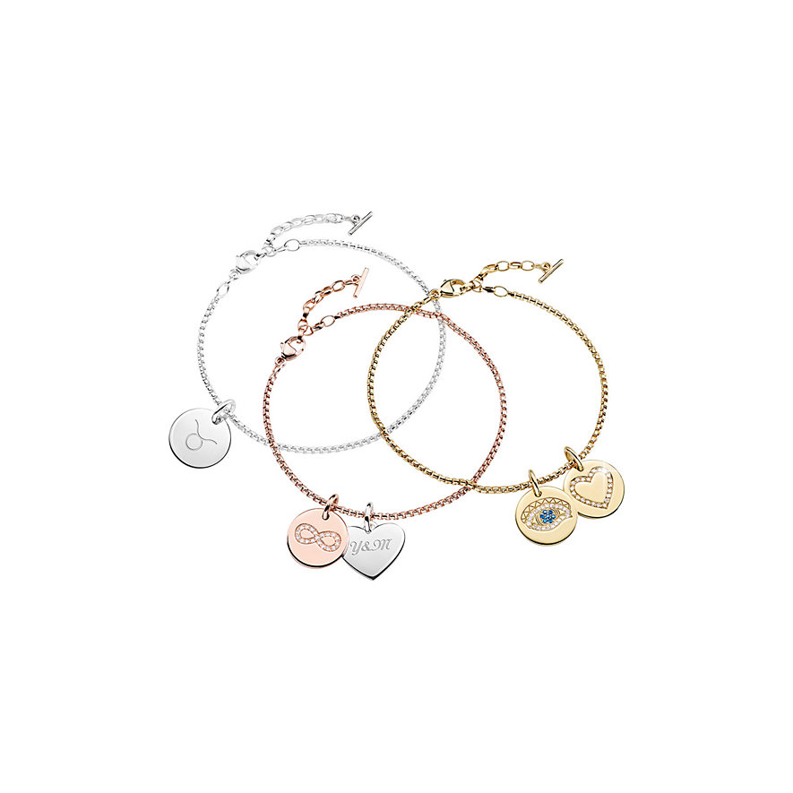 Thomas Sabo Anhänger Love Bridge LBPE0008-051-14