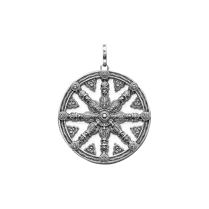 Thomas Sabo Anhänger Wheel of Karma PE667-001-12
