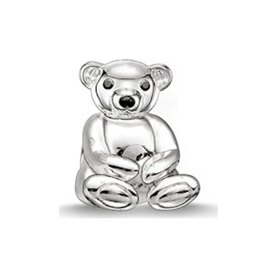 Thomas Sabo Charm Teddybär K0163-041-12
