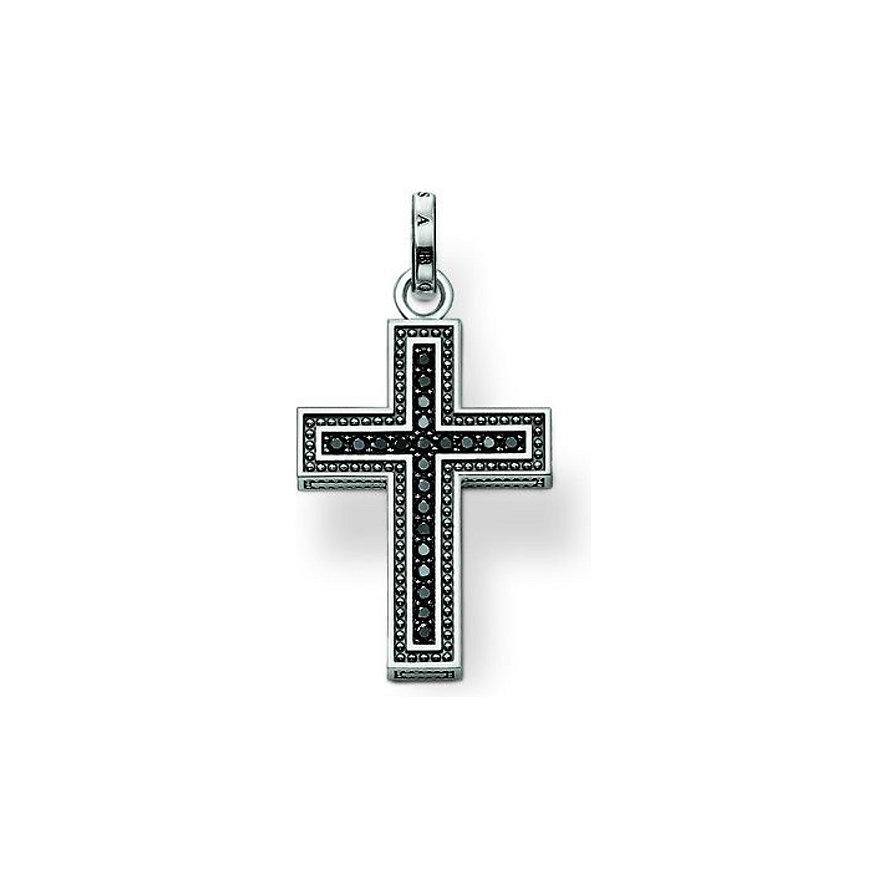 Thomas Sabo schwarzes Kreuz PE530-051-11