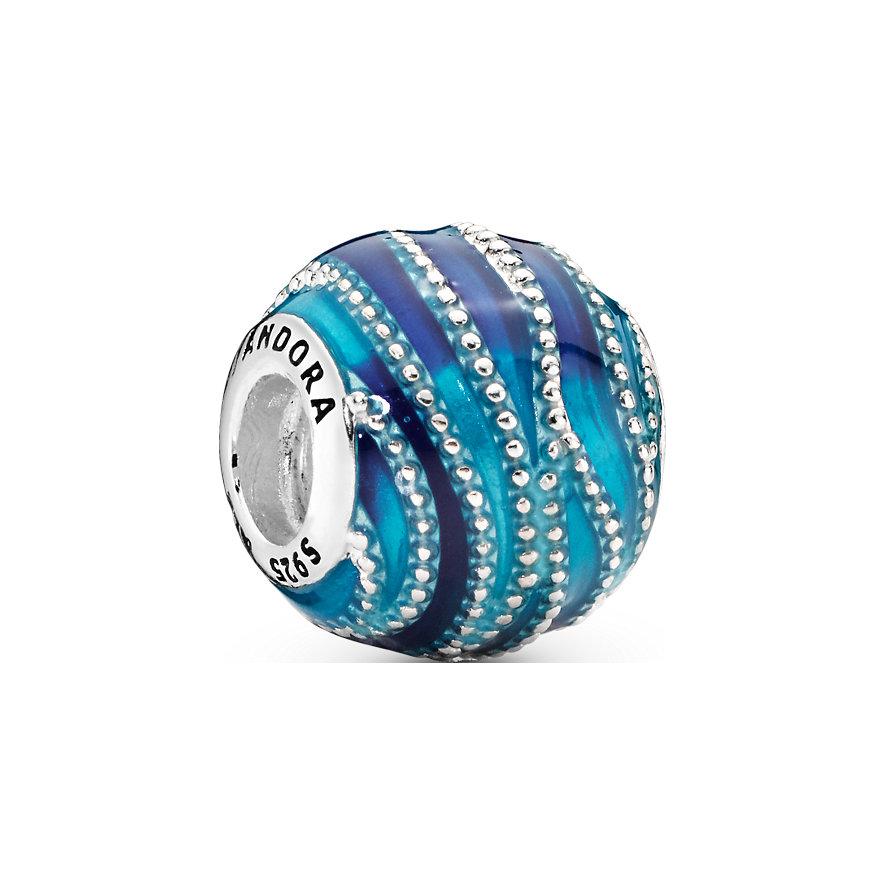 Pandora Charm Colours Blaue Welle 797012ENMX