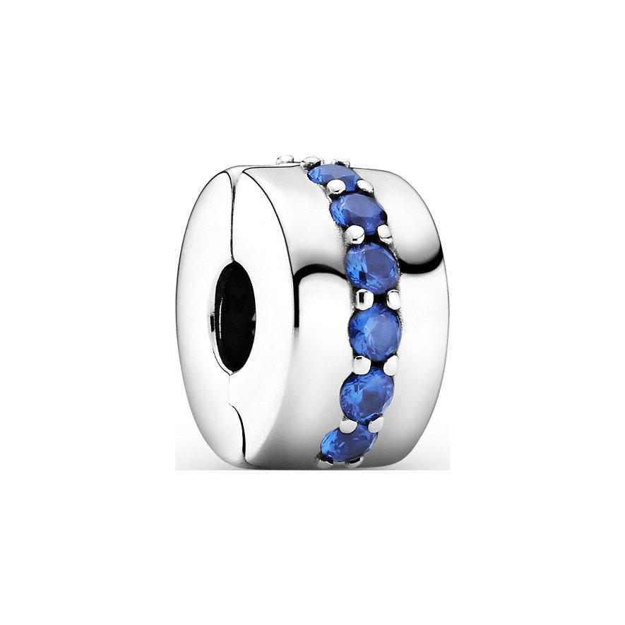 Pandora Charm Colours Blaues Funkelndes Clip 791972C01